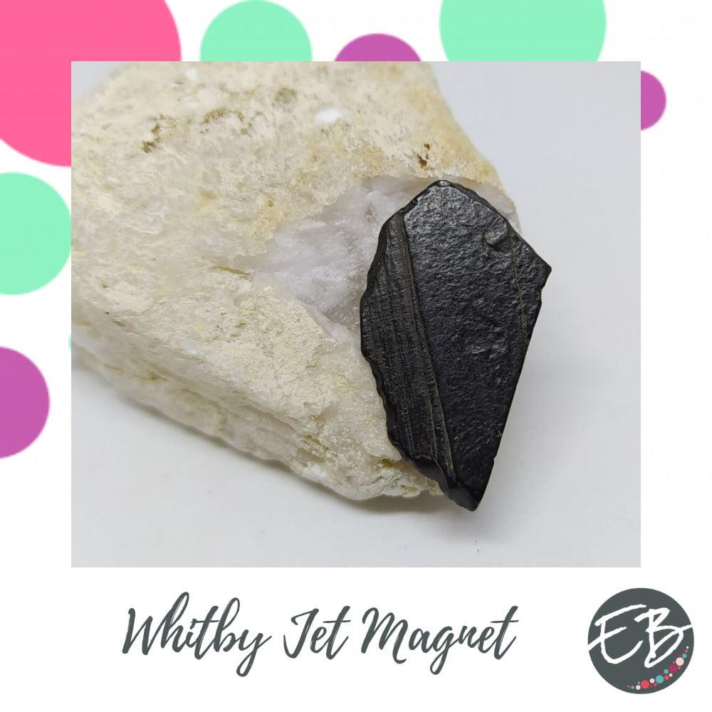 Emaz Beadz - Whitby Jet magnet