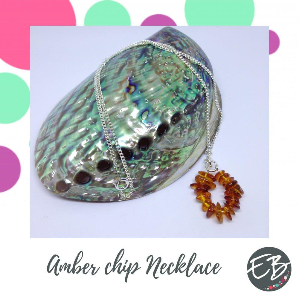 Emaz Beadz - Amber necklace